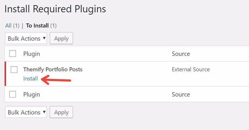 Install Required Plugins in WordPress