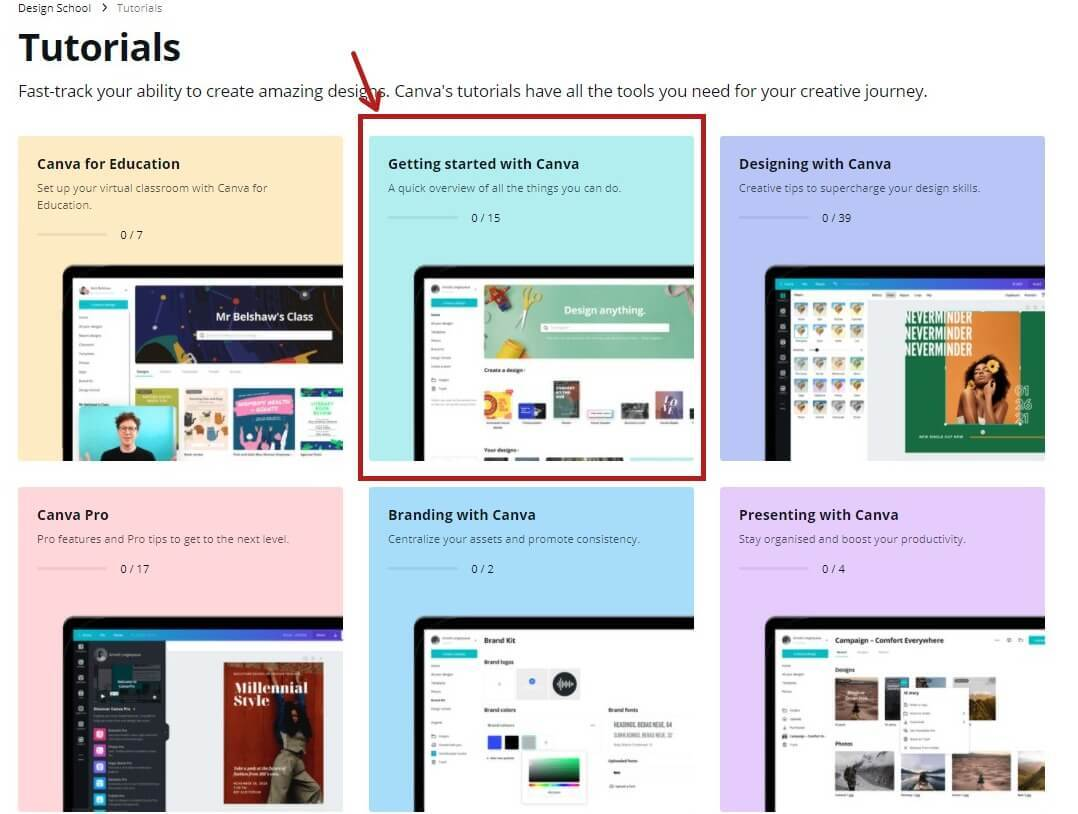 Getting-Started With Canva Tutorial