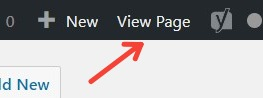 How To View Your WordPress Page From WordPress Dashboard