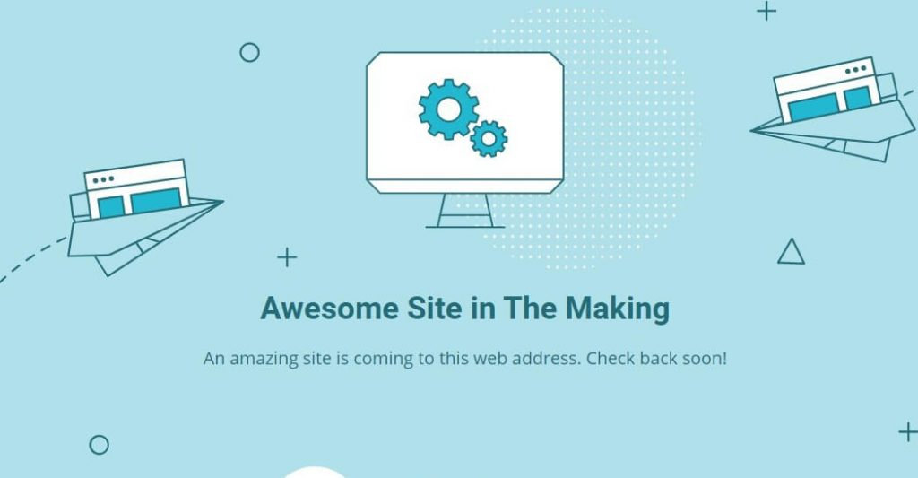 Setting Up Hosting On Siteground Confirmation Screen