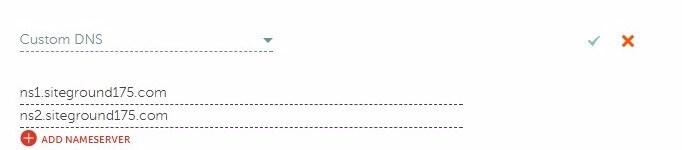Custom DNS in Namecheap