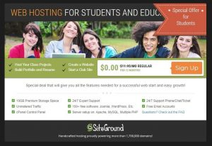 Free Student Hosting With Themify Setup