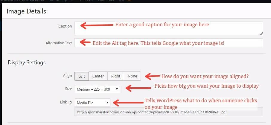 How To Configure Image Options In WordPress