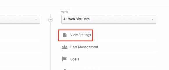 How To Find The View Settings In Google Analytics Admin