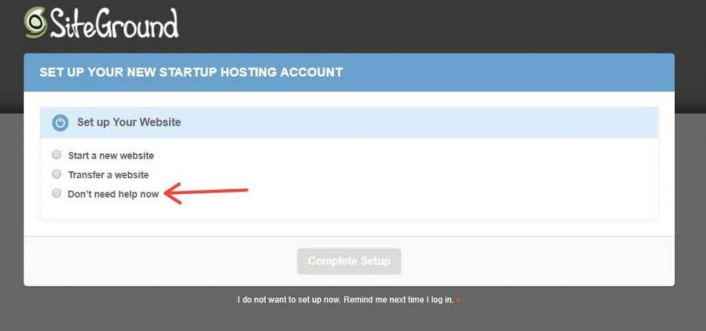 Themify Set Up Your New Startup Hosting Account