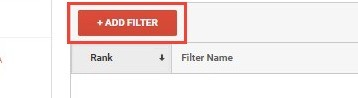 Using The Add Filter Button In Analytics
