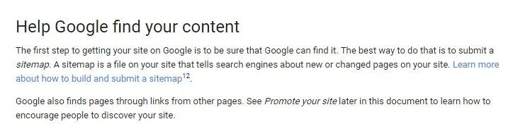 Help Google Find Your Content