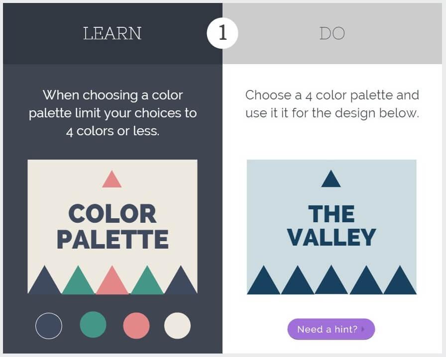 Canva Color palette tutorial