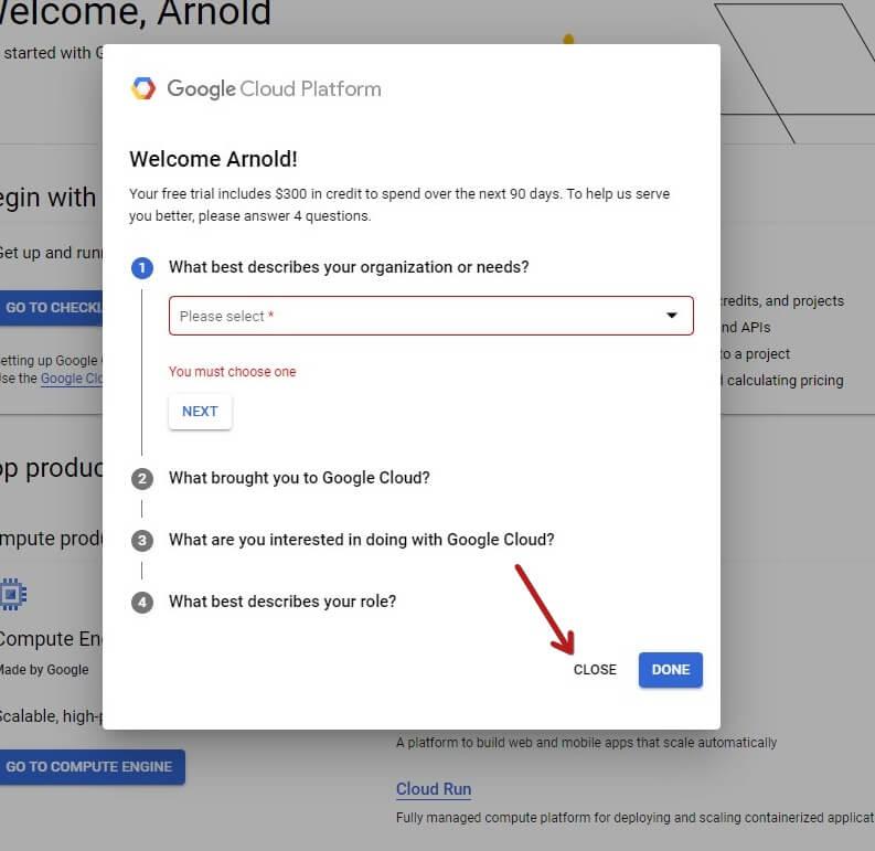 Google Cloud Questions Asked